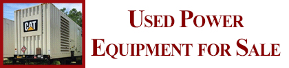 Used Power Equip for Sale
