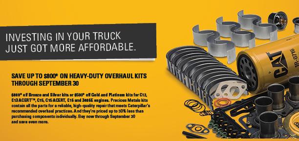 Heavy Duty Truck Engine Overhaul Kits | H O  Penn