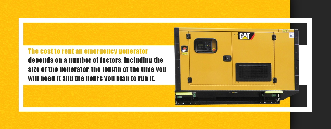 Cost of Renting a Commercial Generator