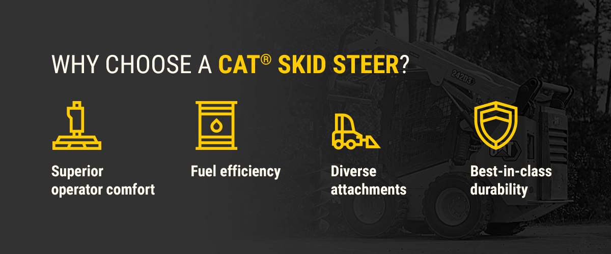 Why Choose a Cat Skid Steer?