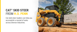 Cat Skid Steers From H.O. Penn