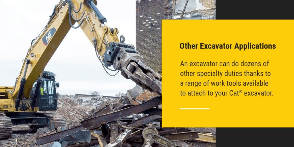 Other Excavator Applications