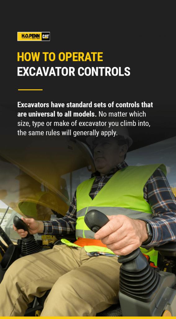 How to Operate Excavator Controls